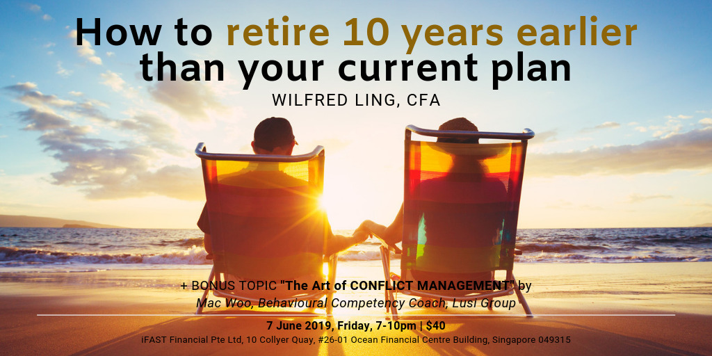 How to retire 10 years earlier than your current plan