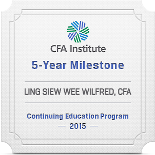 5 years milestone in Continuing Education