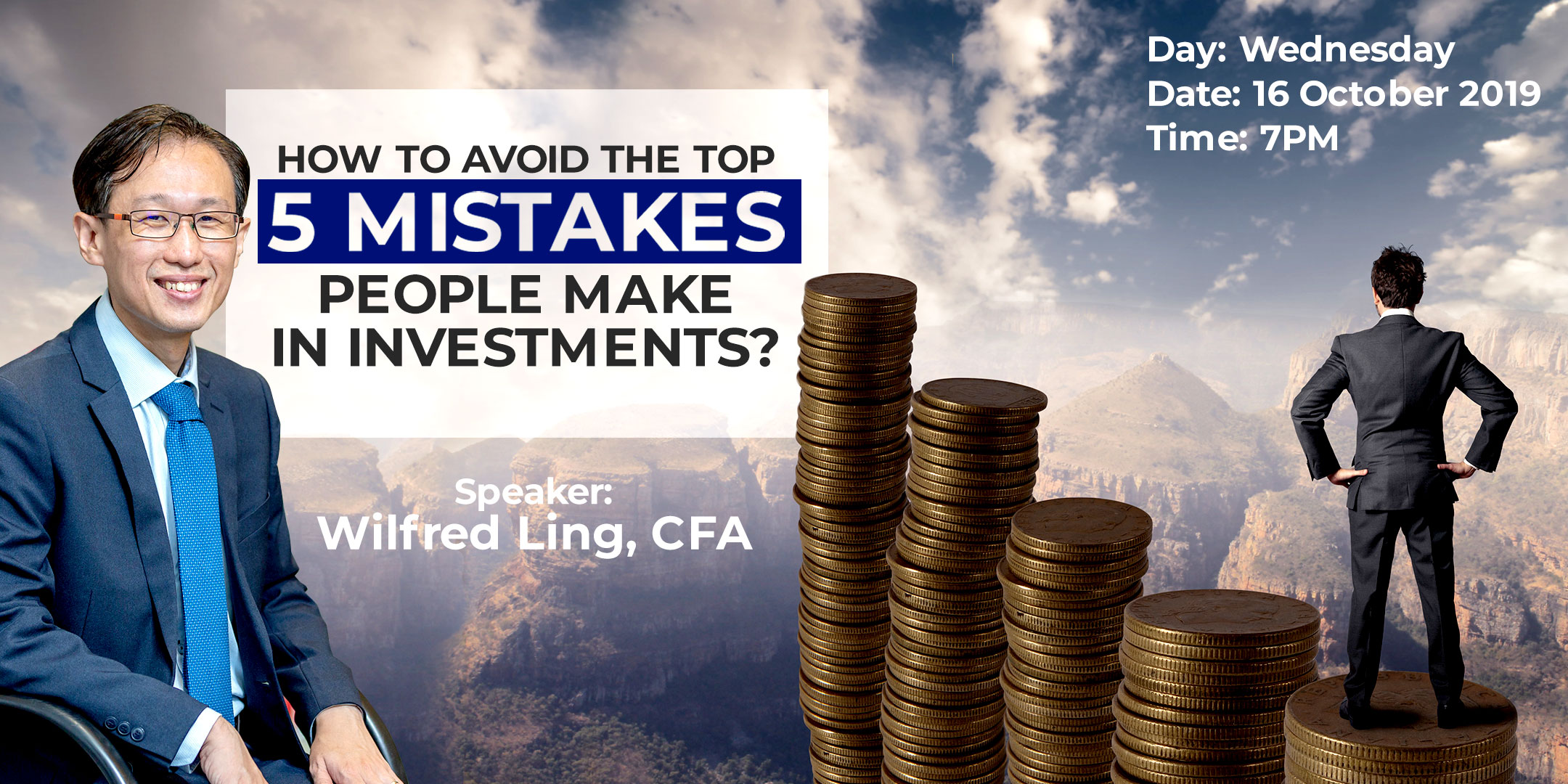 How to avoid the top 5 mistakes in investments